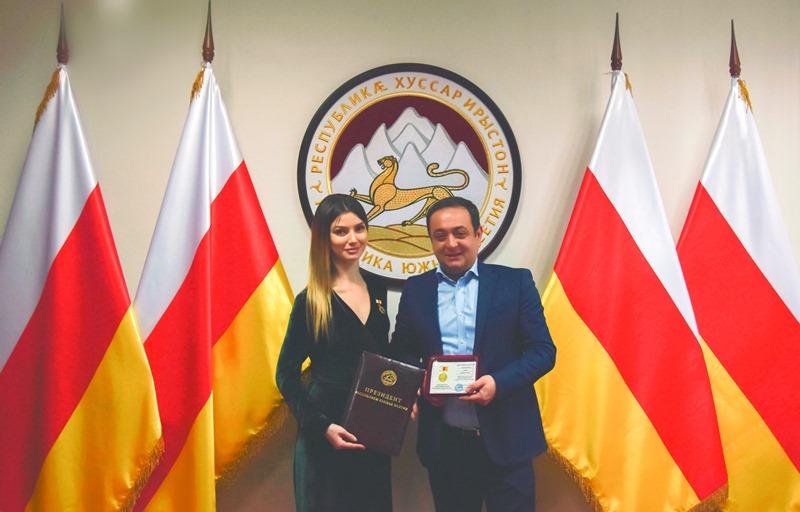 17-ая медаль «Заслуженный артист» появилась в МАТ «Алания»